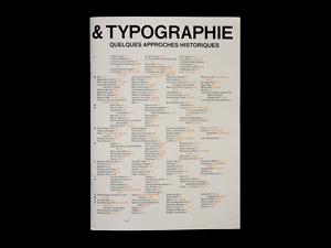 Architecture & Typographie — Quelques approches historiques