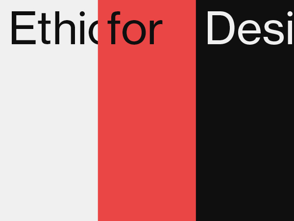 Ethics for Design