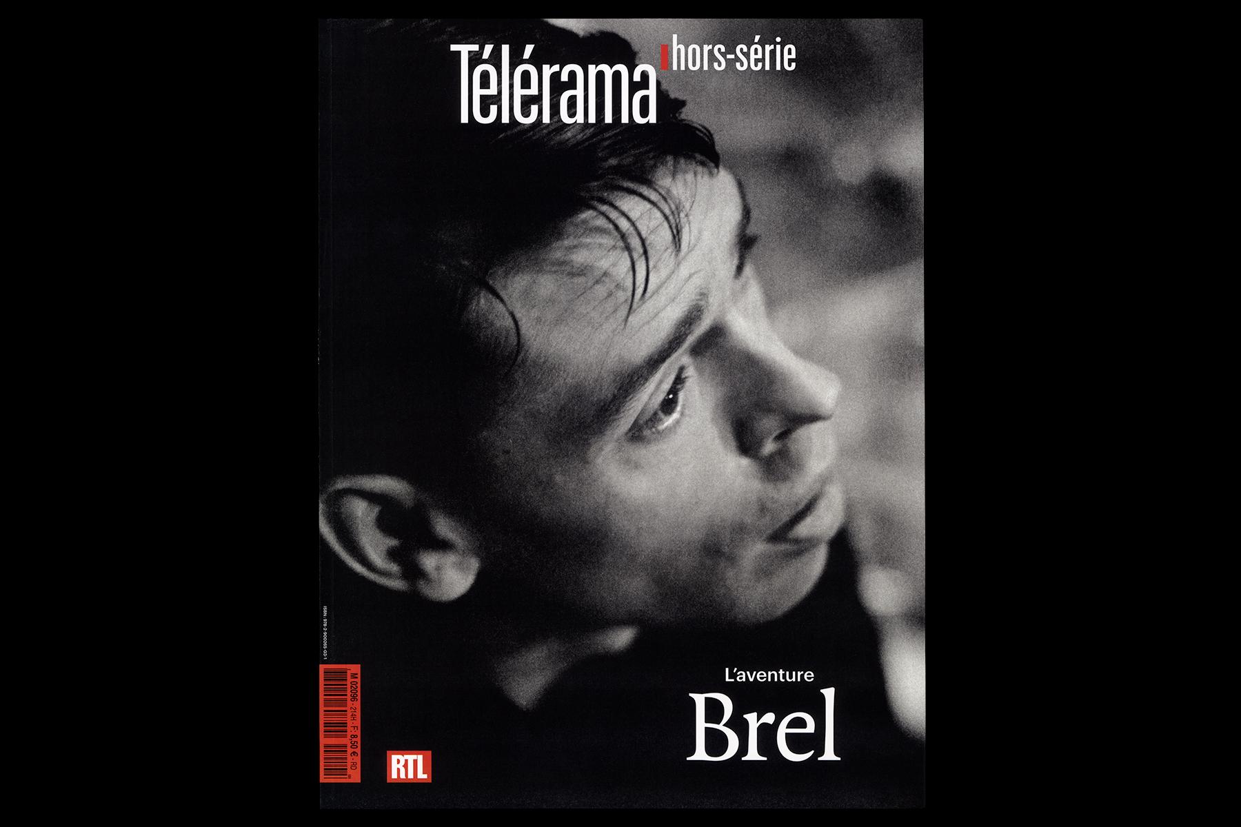 hors-série Télérama Jacques Brel 01